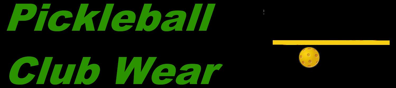 Pickleball Club Wear by Pickleball Rocks